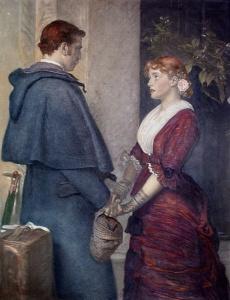 """Yes"" by John Everett Millais, 1877"