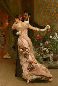 """After the Ball"" by Rogelio de Egusquiza, 1879"