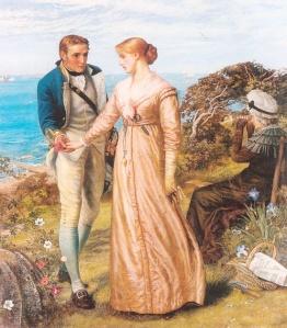 """""""The Sailing Signal Gun"""" by Arthur Hughes, 1881"""