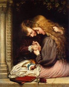 """""""The Thorn"""" by Charles West Cope, 1866"""