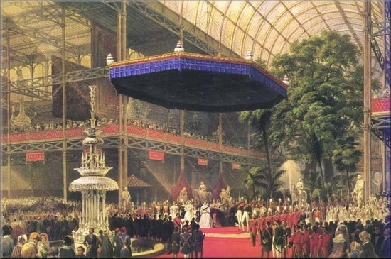 Queen Victoria Opening the Great Exhibition May 1 1851