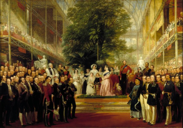 Royal Family at the Opening of the Great Exhibition