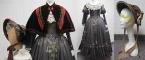 Brown Applique Dress