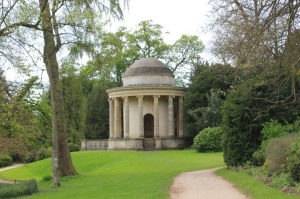 The folly in the park at Wakesdown