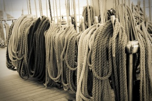 Mast Ropes by Emma Samuel via 500px