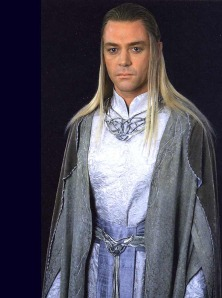 And he also wore a long blond wig in LOTR, just like Karl!