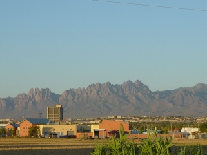 Skyline of Las Cruces, NM