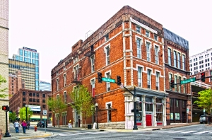 The diverse architecture in downtown Nashville (source)