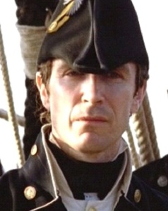 Paul McGann as William Bush in the Hornblower films