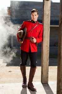 Daniel Lissing as Mountie Jack Thornton in Hallmark Channel's When Calls the Heart