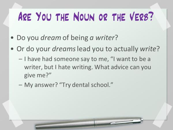 Dreams vs. Goals: Do You Dream of Being a Writer? | KayeDacus.com