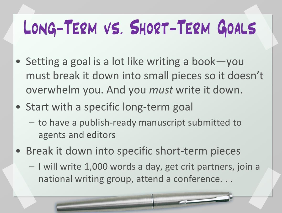 short term long term career goals