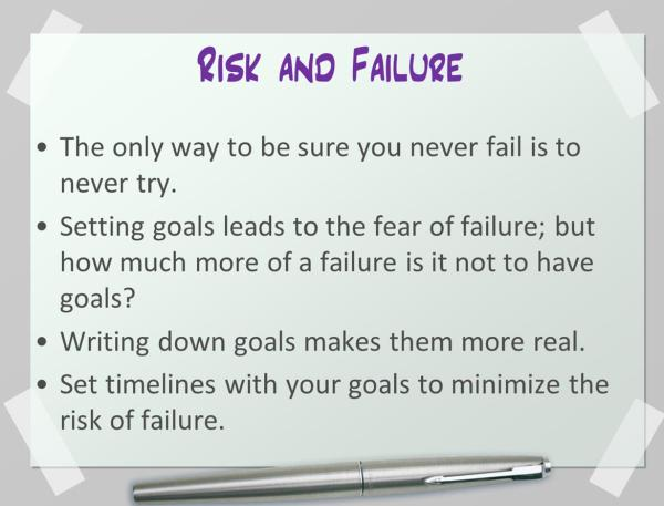 Dreams vs. Goals: Risk, Failure, and Re-evaluating Your Writing Goals | KayeDacus.com