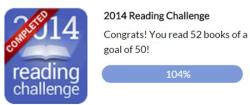 2014 Reading Goals