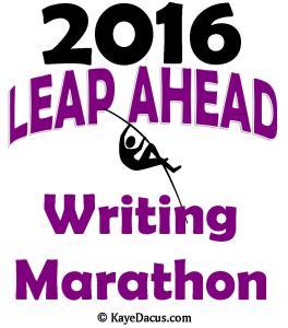 Leap Ahead Marathon Logo
