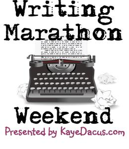 Weekend Writing Marathon