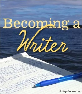 What do i need to become a writer/author?