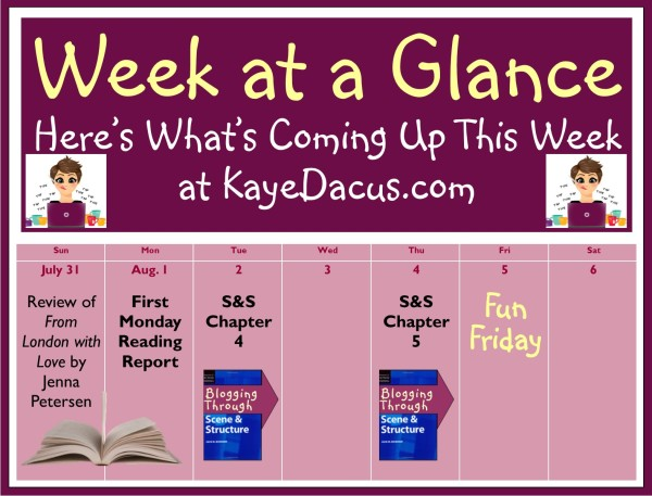 Here's What's Coming Up This Week on KayeDacus.com