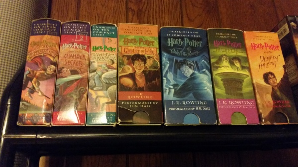 The Harry Potter Series, Audiobooks