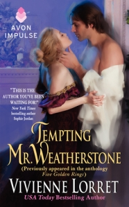 'Tempting Mr. Weatherstone' by Vivienne Lorret