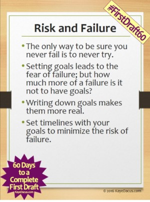 #FirstDraft60 Day 18: Overcoming Obstacles and Challenges | KayeDacus.com
