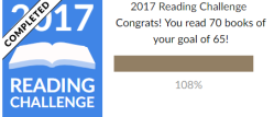 2017 Reading Goals