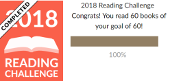 2018 Reading Challenge Results